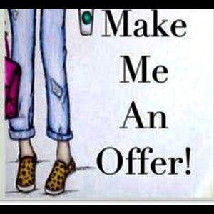 Make me offer a sign